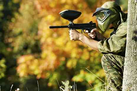 OnTarget Paintball  - Paintballing with 100 Balls for Up to Fifteen  - Save 87%