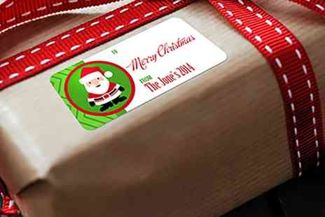 Dinkleboo - Pack of 27 Personalised Christmas Gift Labels - Save 67%
