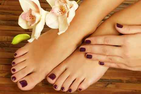 Bangkok Palace - Shellac Manicure, Pedicure or Both - Save 0%