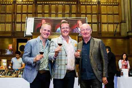 Three Wine Men - Cardiff Wine Tasting Event with Celeb Critics - Save 36%
