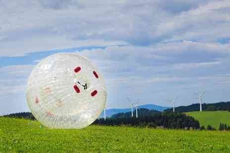 Thunderballz Norfolk Park - One hour zorbing experience for one   - Save 66%