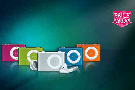Gizmo Gadgets - 8GB shuffling mini MP3 player  - Save 86%