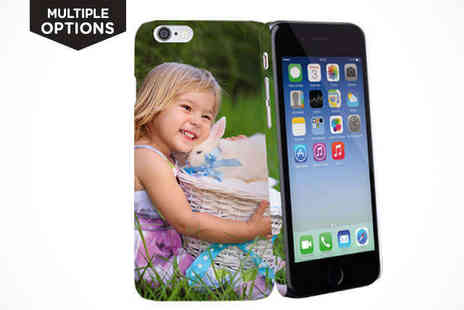 Personalised Protection for your Smartphone - Personalised Phone Case for iPhone or Samsung - Save 72%