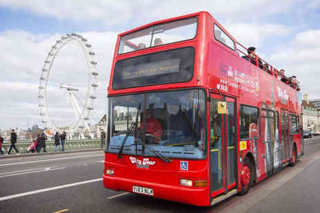City Tour  - Hop On Hop Off London Sightseeing Bus Tour - Save 33%