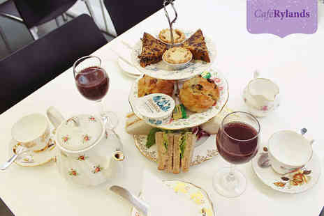 Cafe Rylands - Afternoon Tea for Two or Winter Afternoon Tea for Two  - Save 0%