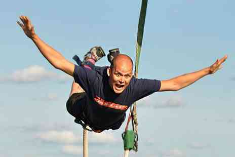 UK Bungee Club - Bungee Jump For One or Tandem Bungee Jump for Two   - Save 25%