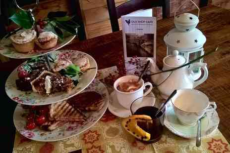 Talton Mill Farm Shop - Festive Afternoon Tea for Two   - Save 0%
