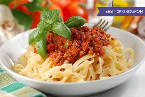 The Flying Dutchman - Choice of Pasta and Garlic Bread for Two   - Save 0%