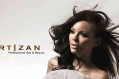 Artizan Professional Hair - Restyle and Finish By Salon Director With Shiatsu Head Massage - Save 62%
