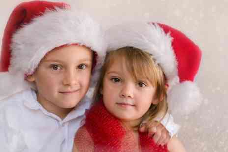Hallmark Photography - Christmas Family Photoshoot with Prints, Christmas Cards, Minced Pie and Hot Drinks  - Save 0%