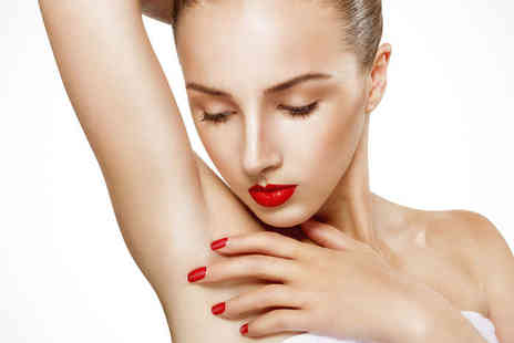 Camden Beauty Spa - Three Sessions of Laser Hair Removal  on Two Medium or Three Small Areas - Save 81%