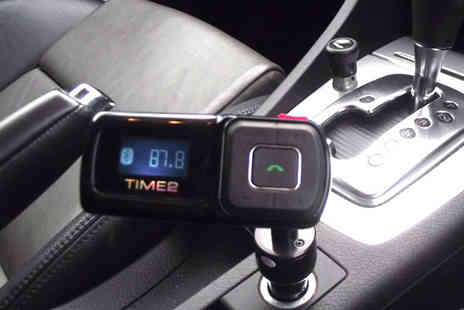 Bibi International - Bluetooth Hands Free Car Kit with FM Transmitter - Save 67%