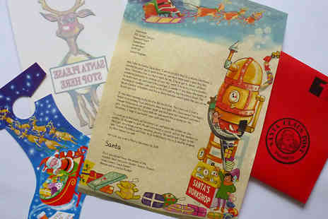 Santa Claus Post - Personalised Santa Letters - Save 45%