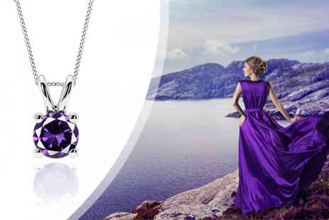 Jewellery Bank British GEM - Amethyst Necklace - Save 0%