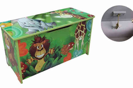 HomeStore Direct - Jungle Toy Seat Box - Save 37%