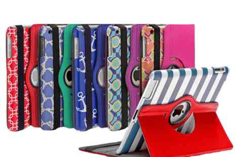 Mobile Star LLC - Aduro Rotating Stand Case for iPad 2/3/4 iPad Air or iPad Mini in Patterns - Save 68%