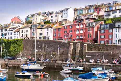 The Quayside Hotel - Overnight Devon Harbourside Stay with Dinner & Prosecco, - Save 41%