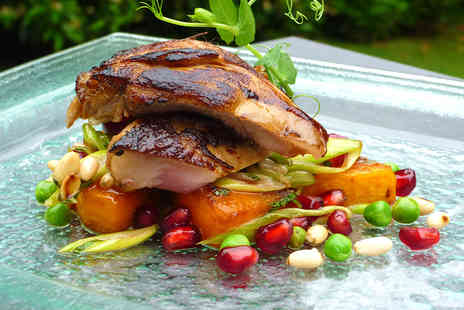 The Old Vicarage Restaurant - Sumptuous Four Course Dinner for Two - Save 21%