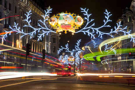 Abbey Tours  - Child ticket for a 90 minute open top bus tour of Londons amazing Christmas lights  - Save 53%