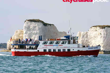 City Cruises - Poole Harbour and Island Boat Tour for One  - Save 44%