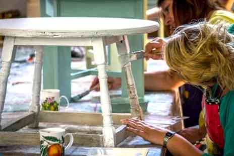 DIY Shabby Chic - Shabby Chic Furniture Painting Workshop with an Optional Stencil Workshop   - Save 72%