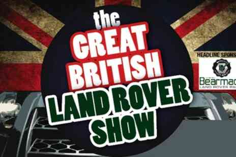 The Great British Land Rover Show - Two Tickets to The Great British Land Rover Show  - Save 50%