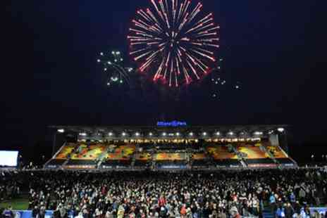 Allianz Park - Fireworks Display with a Burger and Drink for Two on 1 November - Save 30%