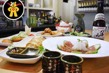 Noa Japanese Restaurant - Sake Tasting with Japanese Tapas for Two - Save 0%