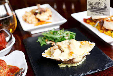 Carriages Wine Bar and Restaurant - Tapas Meal for Two   - Save 52%
