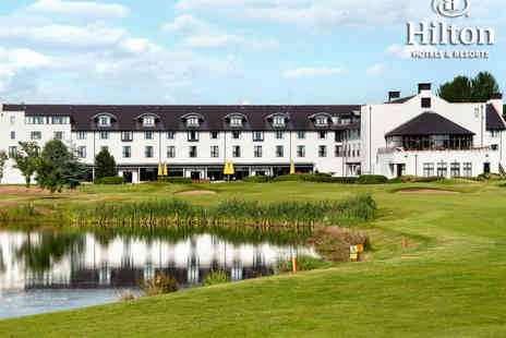 Hilton Belfast Templepatrick Golf & Country Club - Round of Golf with Buffet Breakfast for Two  - Save 0%