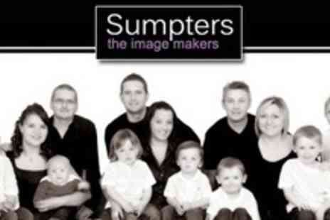 Sumpters The Imagemakers - Group Photo Shoot with Prints, Digital Upload and Private Viewing - Save 90%
