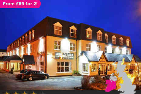 The Menlo Park Hotel - Two Night Stay for Two in Classic Twin or Double Room and Cocktail in Bar on Arrival - Save 40%