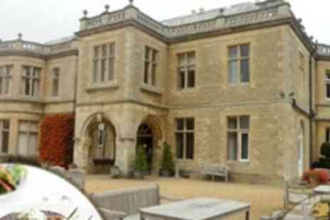Wadenhoe House - Three Course Sunday Lunch For Two With Wine - Save 60%