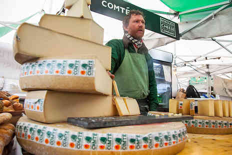 Events 55 - The Cheese & Wine Festival - Save 50%