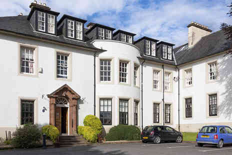 Hetland Hall Hotel -  Dumfries stay for two including a three course meal, mulled wine, mince pies and breakfast  - Save 62%