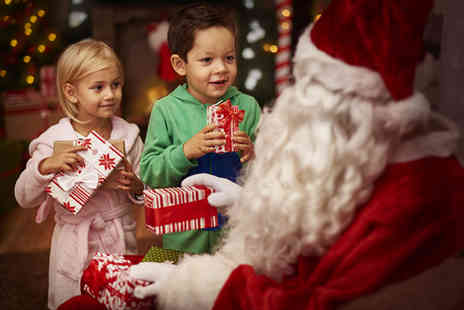 Love Exclusive -  Santas Grotto Winter Wonderland Experience for one   - Save 82%