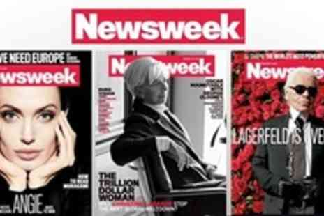 Newsweek - 52 Week Magazine Subscription and Parker Pen - Save 58%