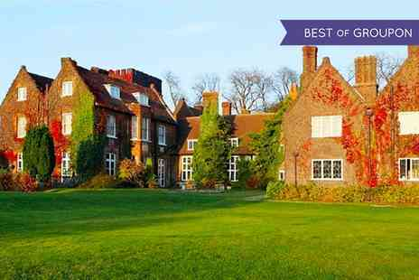 Mercure Letchworth Hall Hotel - One or Two Nights stay For 2 With Breakfast, Dinner and Leisure Access - Save 0%