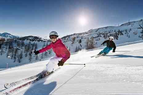 Snowtrex - Seven Nights With Lift Passes And Half Board or Half Board Plus With Option For Sauna Evenings or Festive Menu - Save 0%