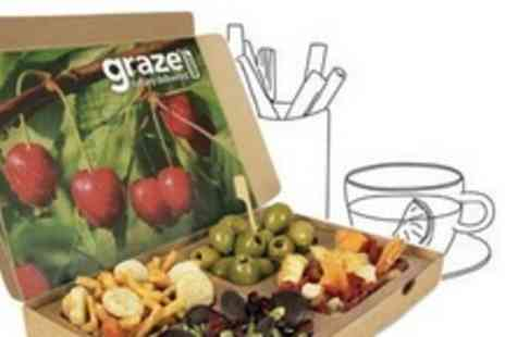Graze - Groupon For Four Healthy Snack Boxes Delivered to Your Door for £5 from graze.com (62% Off) - Save 62%
