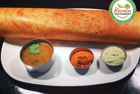 Kerala Restaurant - Lunch Including Dosa and Soft Drink Each for Two - Save 60%