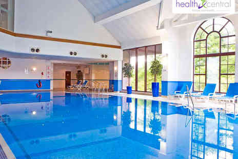 Health Central East Kilbride - Spa Day with Hot Stone Massage and Facial, Lunch, Use of Facilities, and Two Future Guest Passes for One  - Save 54%