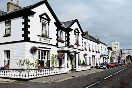 The Londonderry Arms Hotel - One  or Two Night  Stay for Two with Breakfast Daily, Bottle of Wine if Dining, and a Midday Checkout - Save 41%