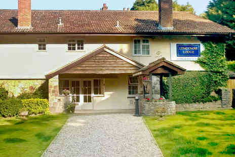 Lyncombe Lodge Hotel  - Two Night Stay for Two with Welcome Drink on Arrival, Breakfast, and Late Checkout - Save 60%