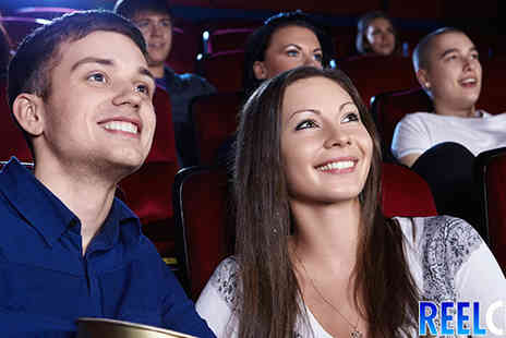 Reel Cinema  - Two cinema Tickets   - Save 48%