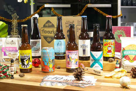 Sevenly Media - Personalised Craft Beer Gift Hamper from Flavourly - Save 68%