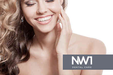 NW1 Dental Care - One Hour Laser Teeth Whitening Treatment - Save 77%