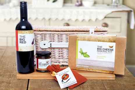 Big Cheese Making Kit - Choice of Big Cheesy Christmas Hampers - Save 55%