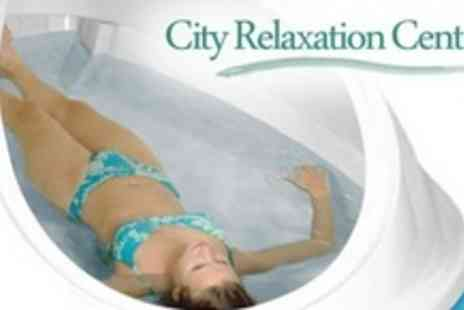 City Relaxation Centre - Three Individual One Hour Floatation Therapy Sessions - Save 64%