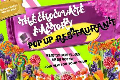 The Chocolate Factory  - Dining Experience for one  - Save 13%